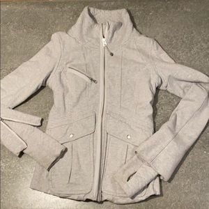 Lululemon grey zip up